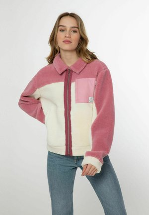 QUARTZIE - Fleece jacket - berry melee