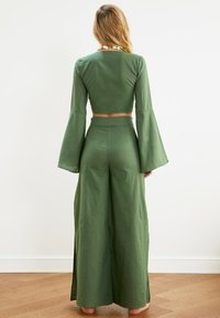 Trendyol - SET - Trousers - green - 1