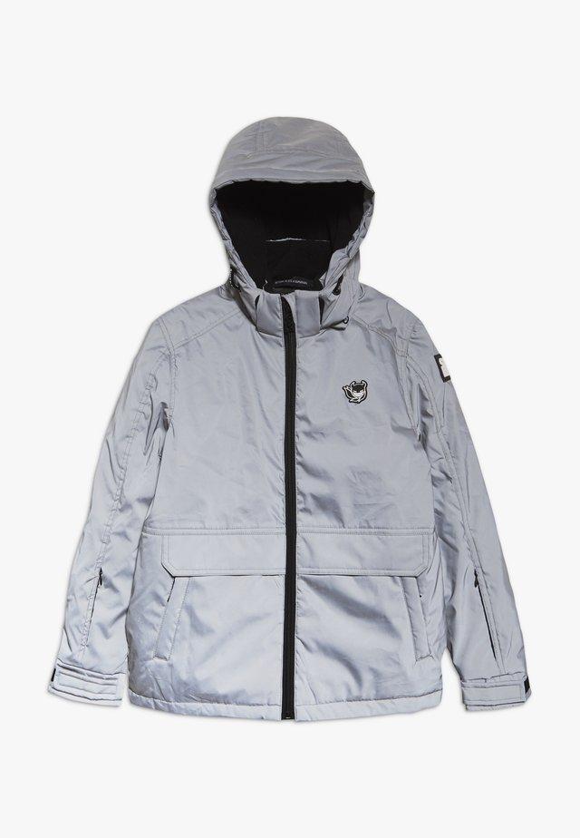 TECHNICAL JACKET - Snowboard jacket - silver reflective