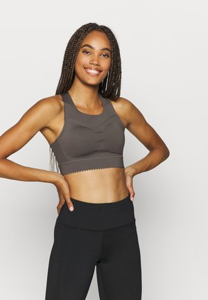 THE SCALLOP - High support sports bra - grey