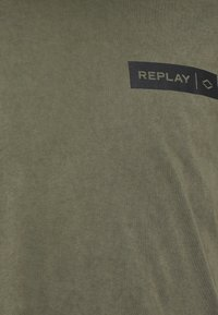 Replay - Print T-shirt - olive - 2