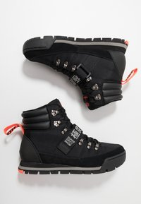 Superdry - OUTLANDER - Lace-up ankle boots - black - 1