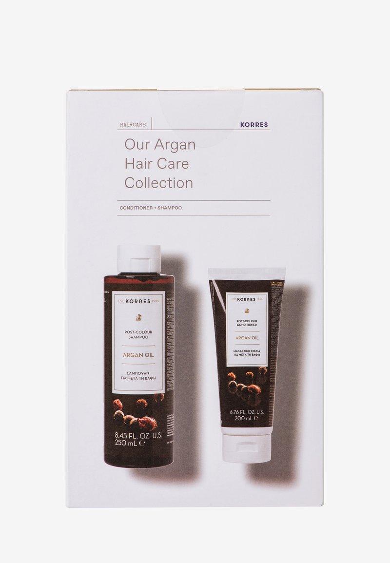 Korres - ARGAN OIL ADVANTAGE HAIRCARE SET - Hair set - -