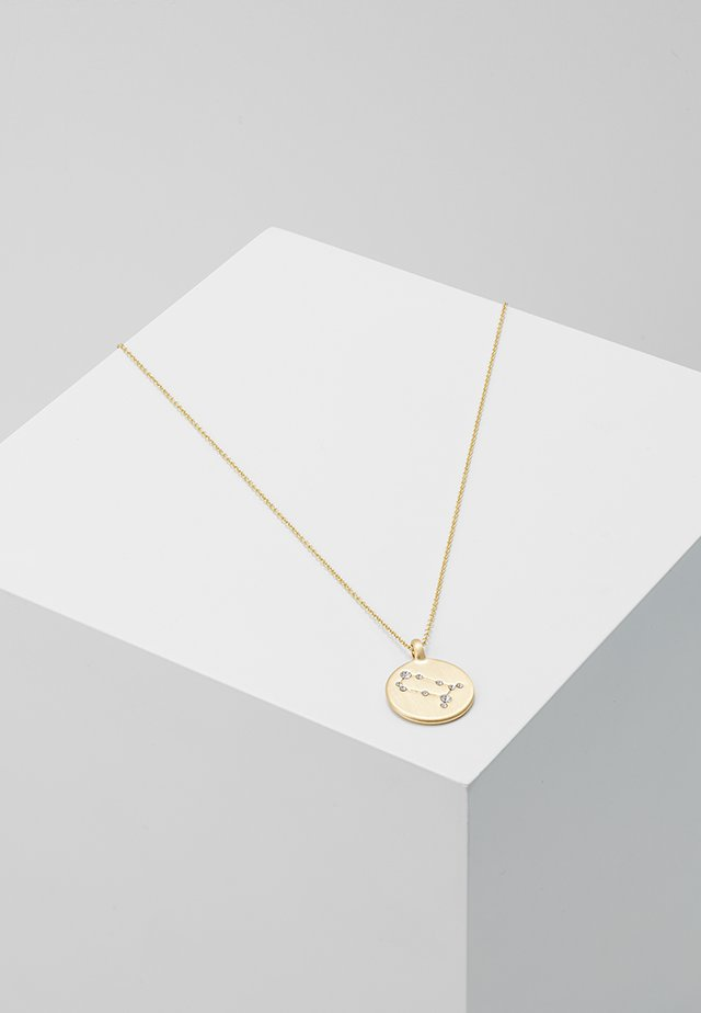 GEMINI - Necklace - gold-coloured/crystal