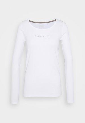 CORE - Maglietta a manica lunga - white