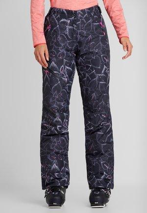 JOSIE - Snow pants - anthrazit/pink