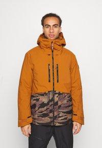 O'Neill - TEXTURE JACKET - Snowboard jacket - glazed ginger - 0