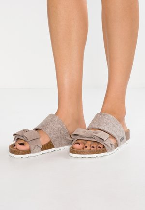 ELISABET - Slippers - beige