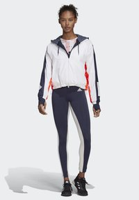 adidas Performance - KEY POCKET LEGGINGS - Legginsy - blue/white - 1