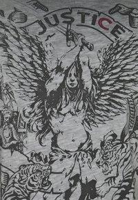 Key Largo - JUSTICE ROUND - Print T-shirt - anthra - 5