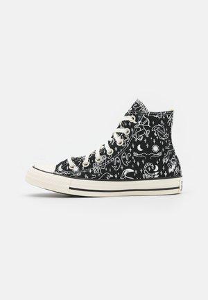 CHUCK TAYLOR ALL STAR - Sneakers hoog - black/egret/natural ivory