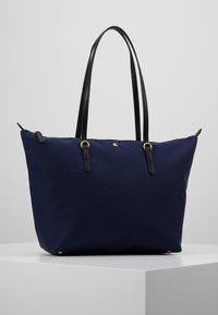 Lauren Ralph Lauren - KEATON TOTE-SMALL - Handbag - navy - 0