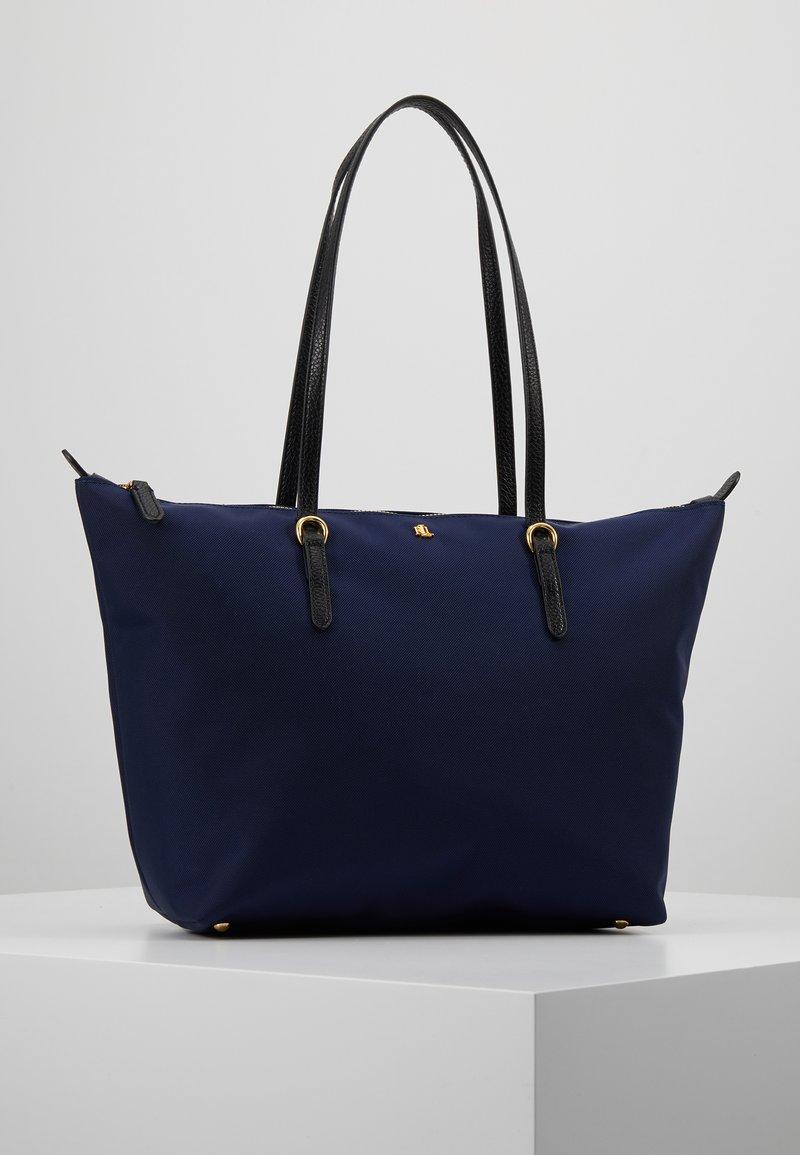 Lauren Ralph Lauren - KEATON TOTE-SMALL - Handbag - navy
