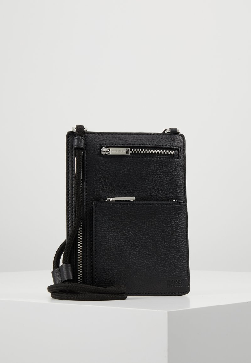 BOSS - CROSSTOWN NECK POUCH - Wallet - black
