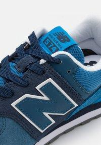 New Balance - Baskets basses - natural indigo/oxygen blue - 5