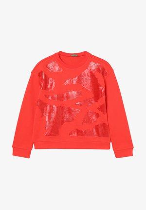 SWEATER - Sweatshirt - red