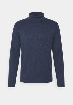 TURTLE NECK - Pullover - navy