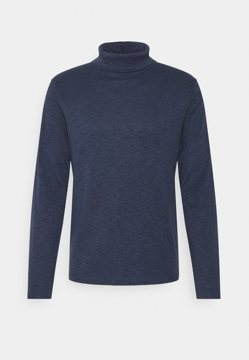 Abercrombie & Fitch - TURTLE NECK - Pullover - navy