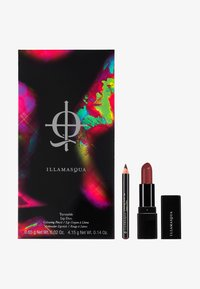 Illamasqua - NEON TARTAN LIP DUO - Set de maquillage - deep red - 0