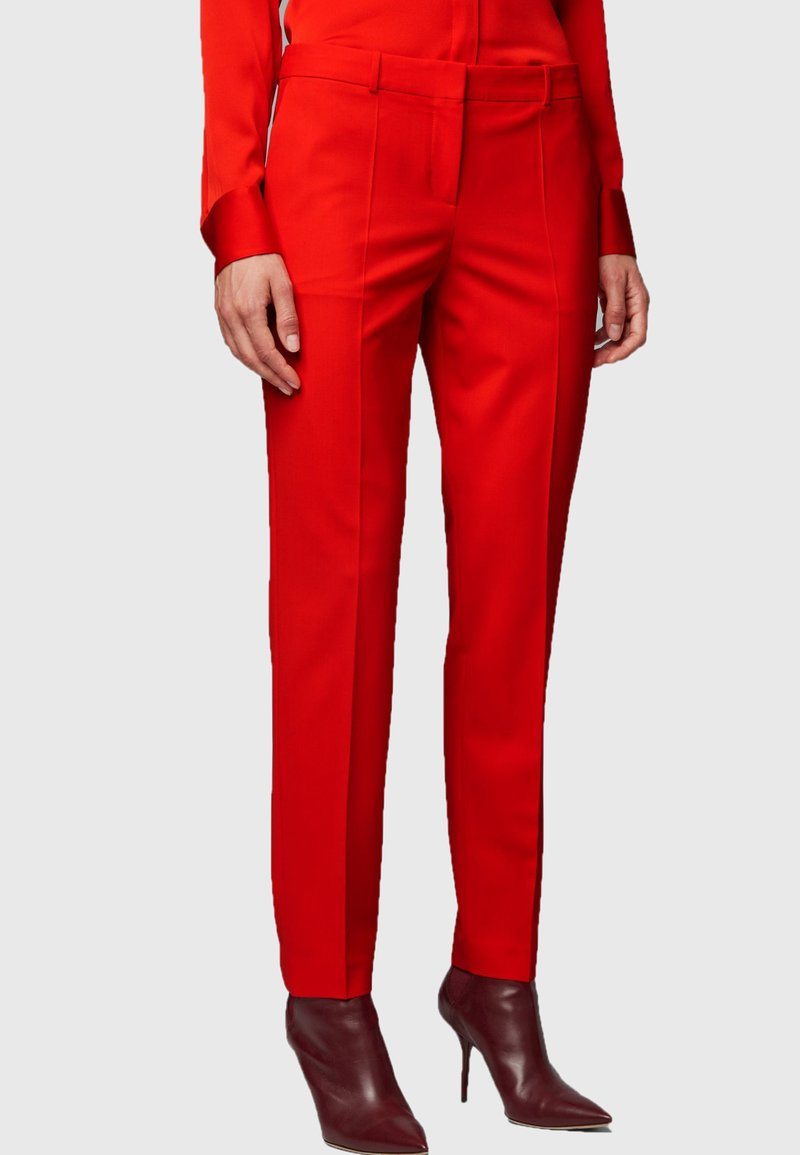 BOSS - TILUNA - Trousers - red
