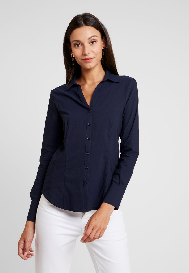 More & More - Button-down blouse - marine