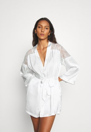 CRUSH DESHABILLE - Dressing gown - ecru