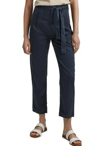 edc by Esprit - UTILITY  - Trousers - navy - 4