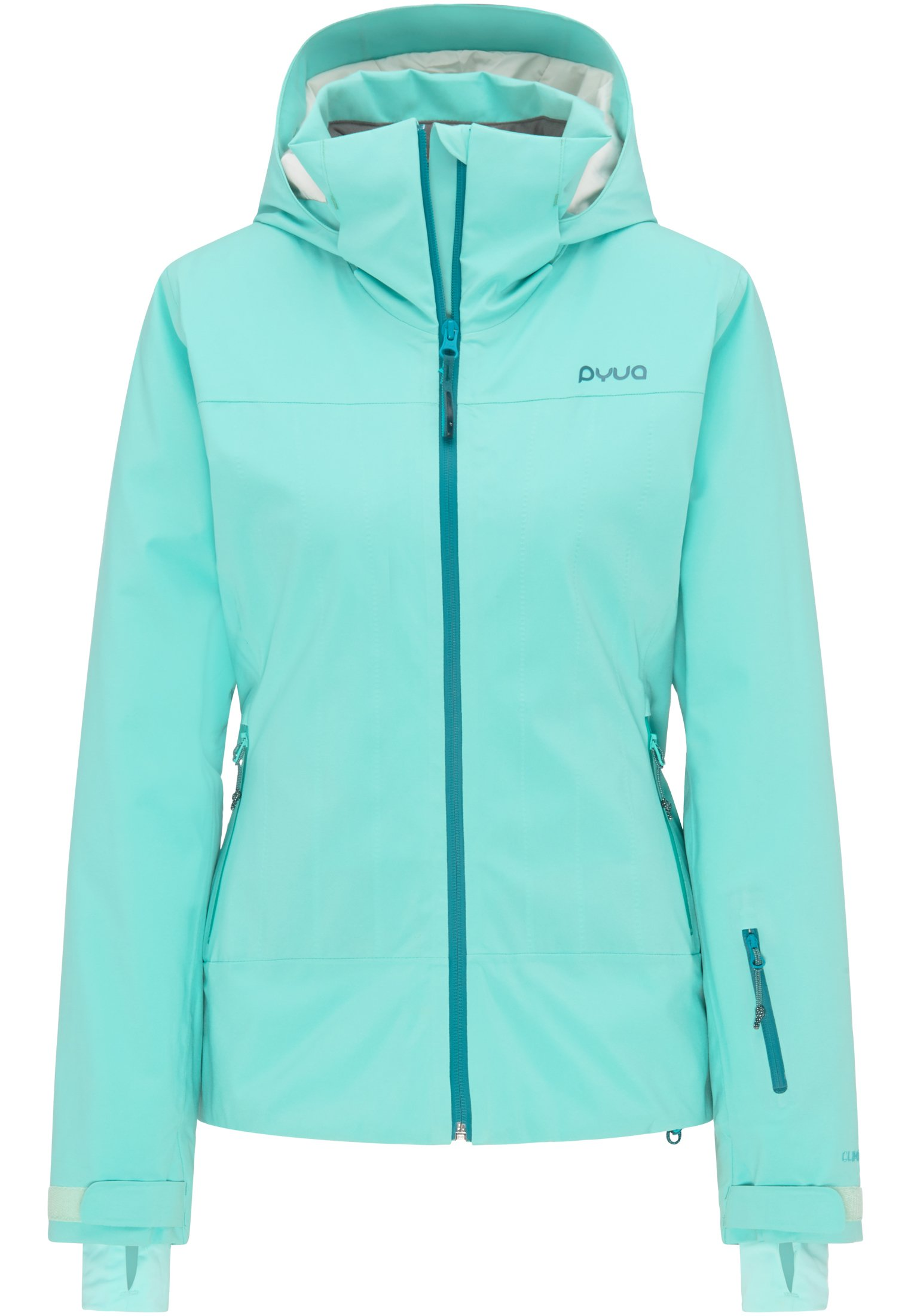 PYUA ski jacket waterproof ladies hardshell rain jacket
