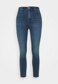 J Brand - DARTED HIGH RISE CROP - Jeans Skinny Fit - moxie - 4