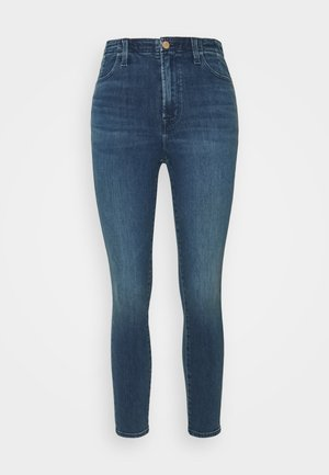 DARTED HIGH RISE CROP - Jeans Skinny - moxie