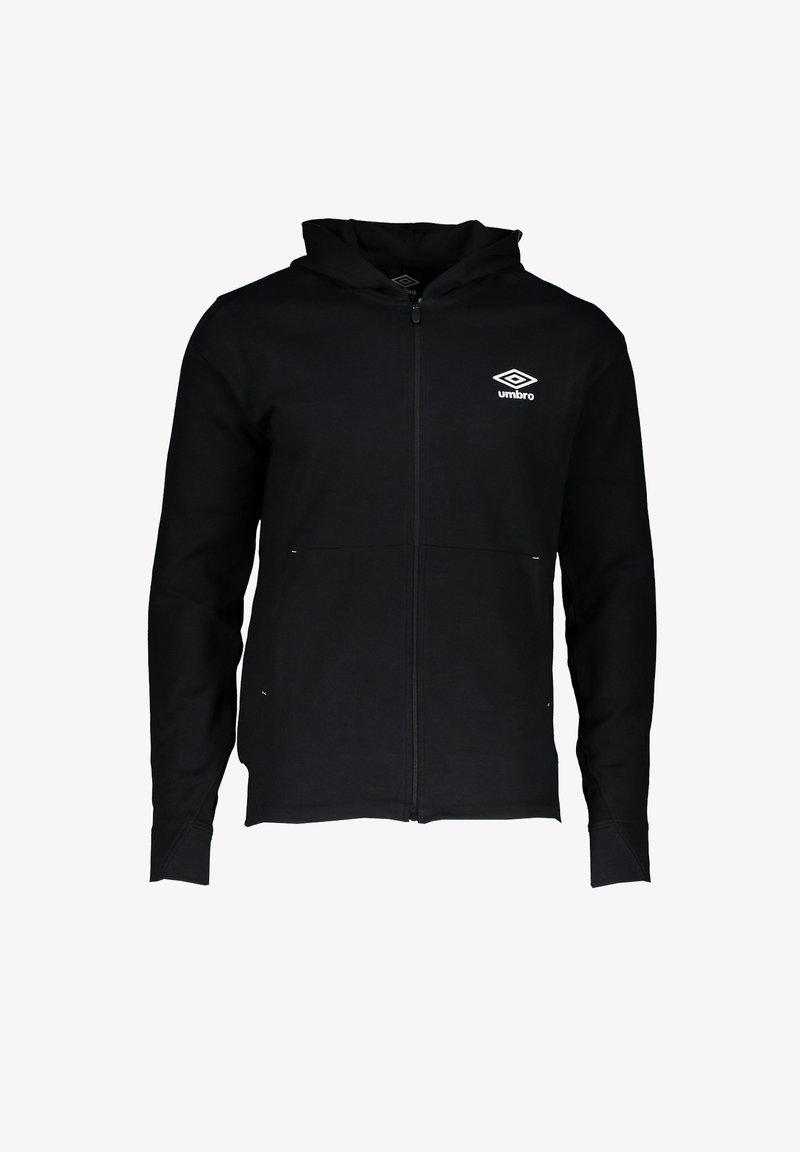 Umbro - Zip-up sweatshirt - schwarz