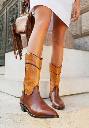 DANY  - Cowboy/Biker boots - tan