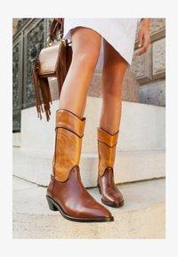 See by Chloé - DANY  - Cowboy/Biker boots - tan - 3