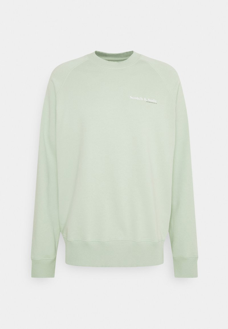 Scotch & Soda - CLASSIC CREWNECK  - Collegepaita - seafoam