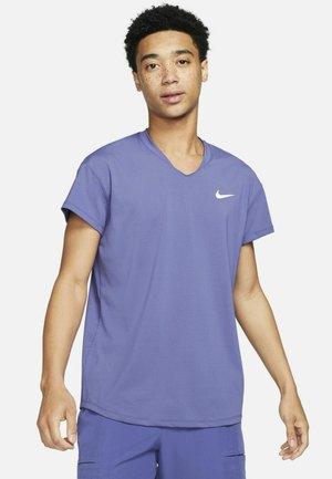 T-shirt basic - dark purple
