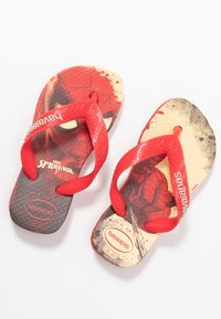 Havaianas - TOP MARVEL SPIDER MAN - Teenslippers - ruby red - 5