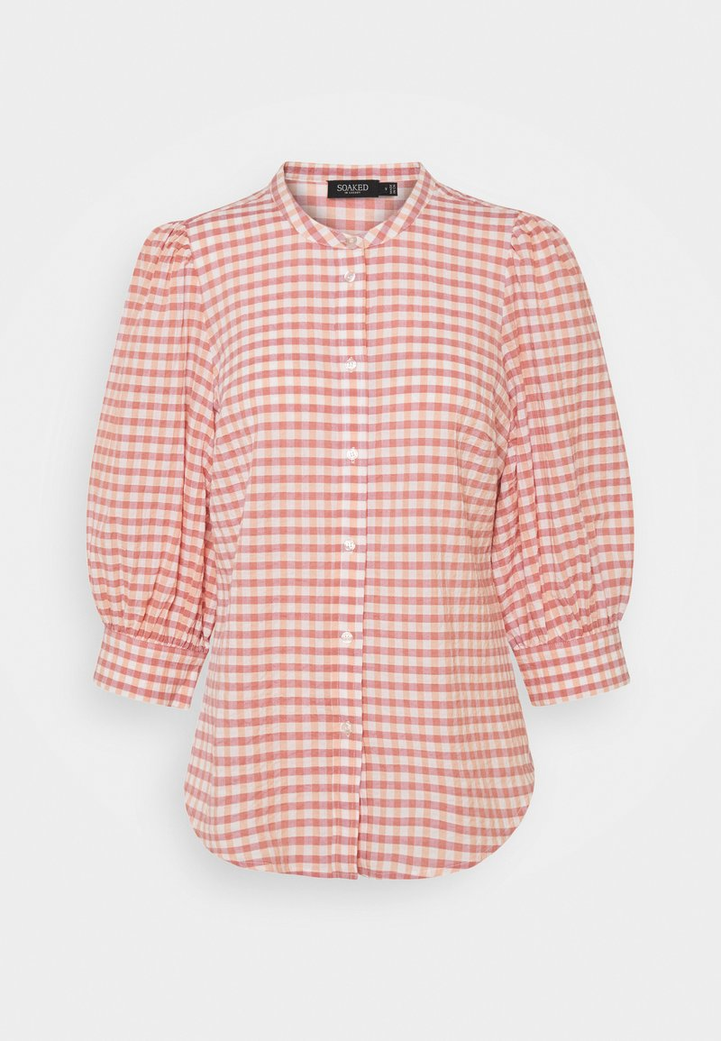 Soaked in Luxury - CRUSH SHIRT - Button-down blouse - multi coloured