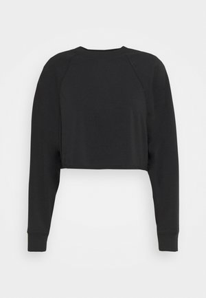 LIFESTYLE CROP RAGLAN  - Sweatshirt - black