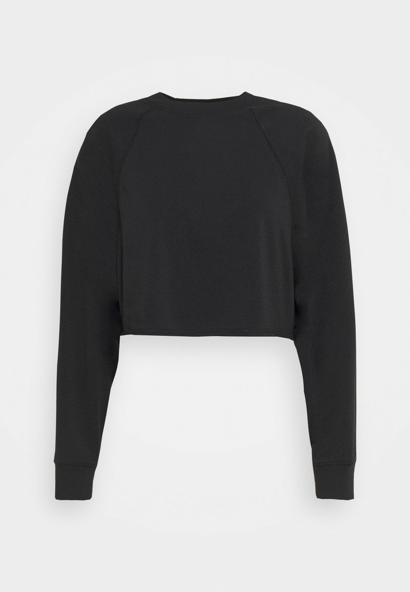 Cotton On Body - LIFESTYLE CROP RAGLAN  - Sweatshirt - black