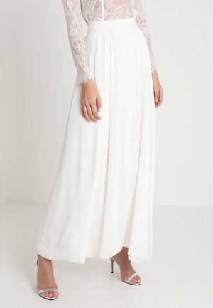 BRIDAL SKIRT - Maxi skirt - snow white