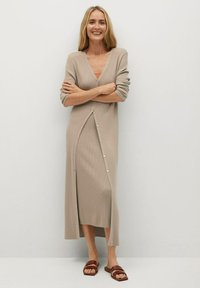 Mango - CANE-A - Jumper dress - lyst/pastell grå - 0