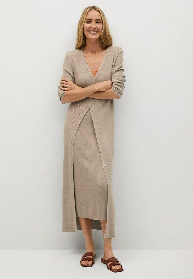 Mango - CANE-A - Jumper dress - lyst/pastell grå