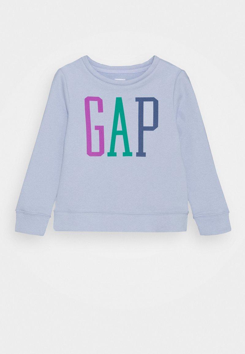 GAP - GIRLS LOGO - Sweater - jet stream blue