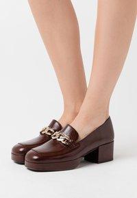 Jonak - VIANE - Platform heels - marron - 0