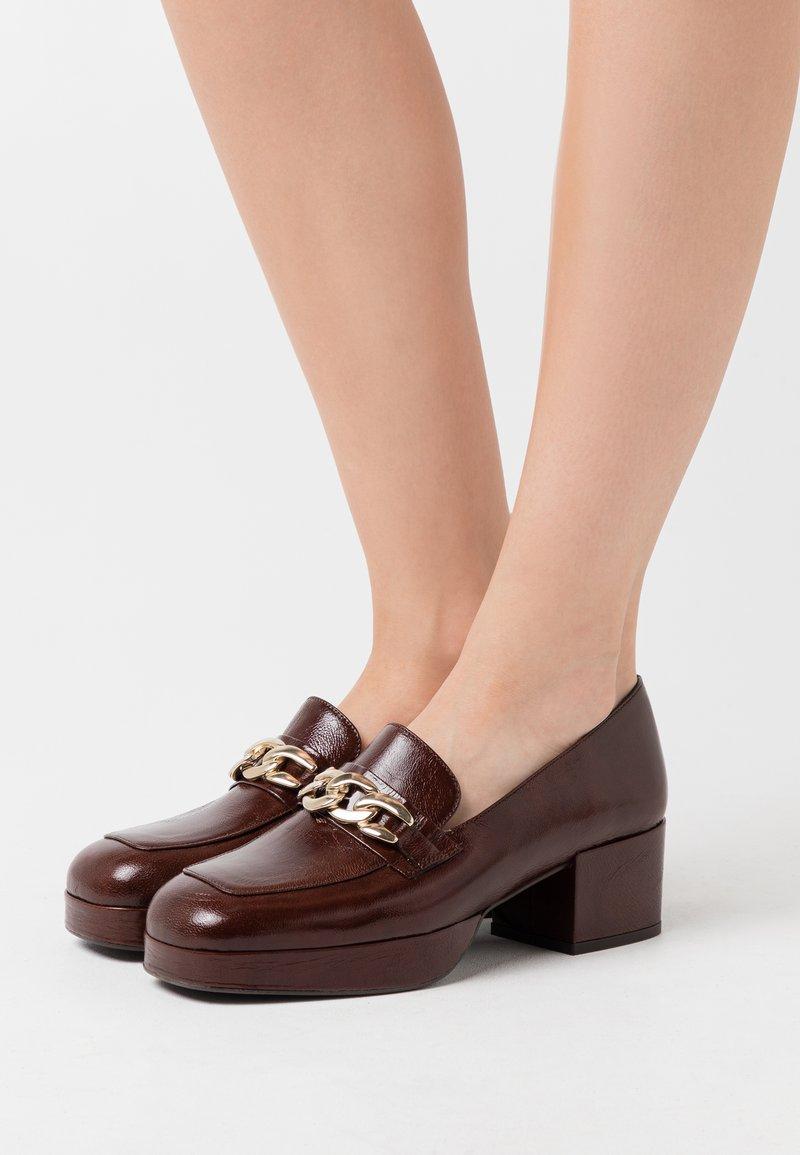 Jonak - VIANE - Platform heels - marron