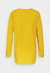 edc by Esprit - PRINT BLOUSE - Blouse - brass yellow - 1