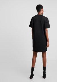 10DAYS - TURTLE NECK DRESS - Jersey dress - black - 2