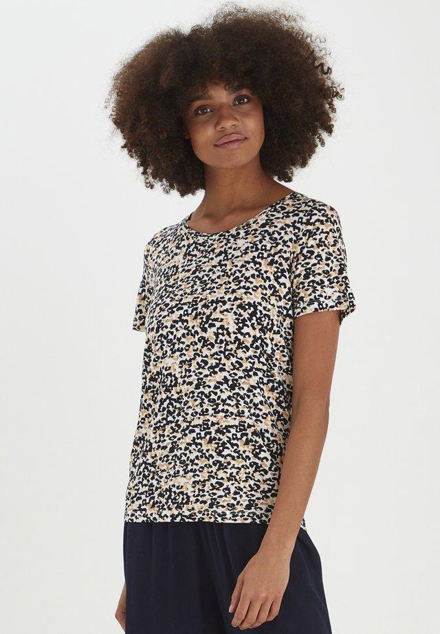 IHLISA - T-shirt print - tan