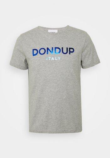 T-SHIRT - T-shirt imprimé - grey