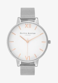 Olivia Burton - DIAL BIG DIAL - Rannekello - silver-coloured - 1